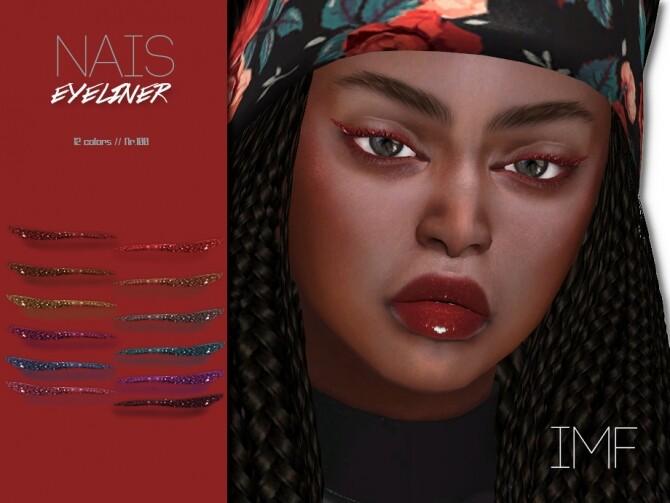 Sims 4 IMF Nais Eyeliner N.100 by IzzieMcFire at TSR