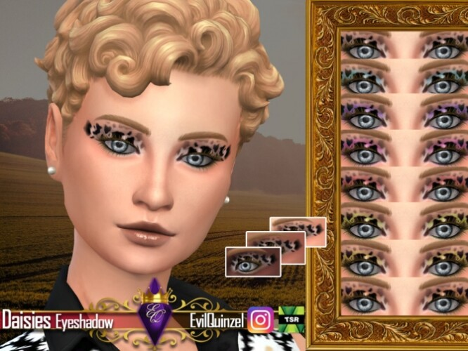 Daisies Eyeshadow by EvilQuinzel