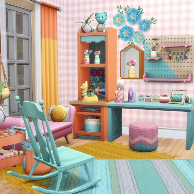Sims 4 Nifty Knitting Expanded 20 new Items at Simsational Designs