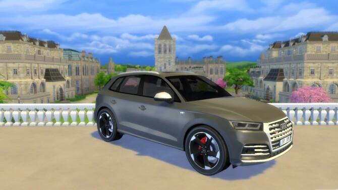 Sims 4 Audi SQ5 at LorySims