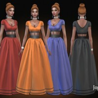 Anourya dress by  jomsims
