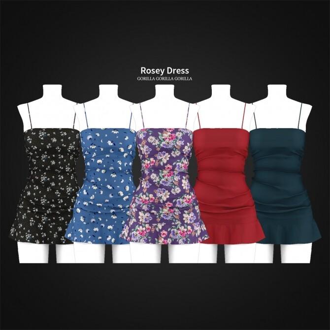 Rosey Dress at Gorilla image 4021 670x670 Sims 4 Updates