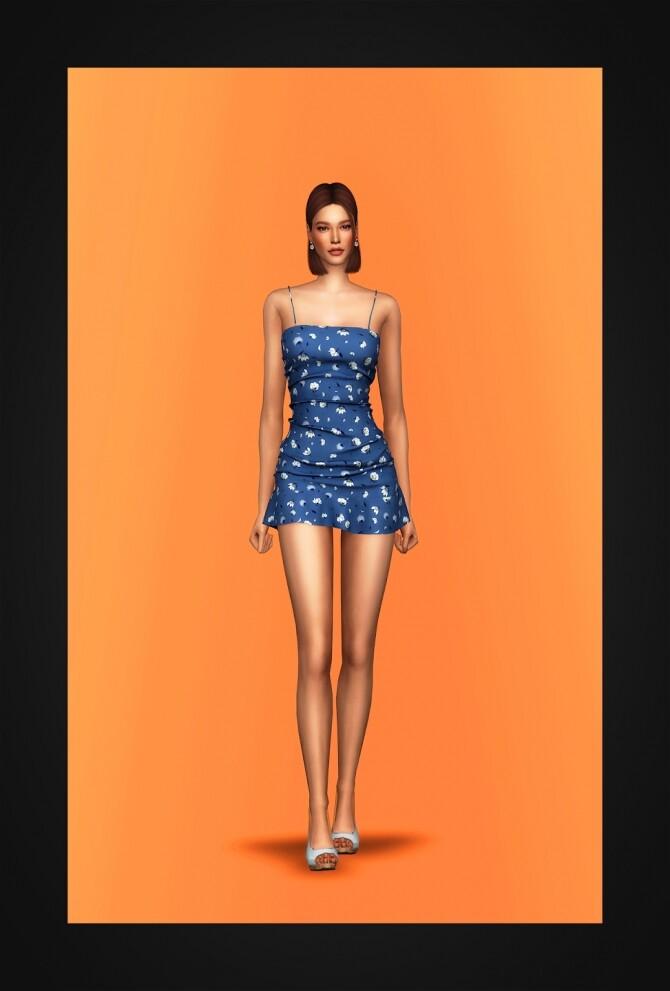 Rosey Dress at Gorilla image 4041 670x991 Sims 4 Updates