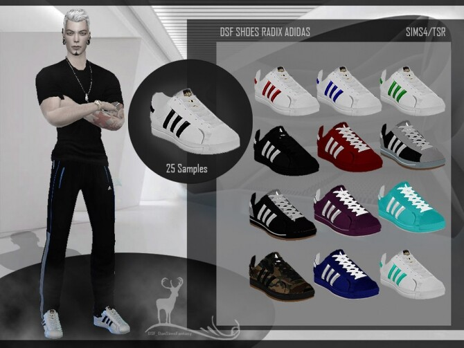 Sims 4 DSF SHOES RADIX shoes by DanSimsFantasy at TSR