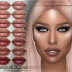 FRS Lipstick N190 by FashionRoyaltySims