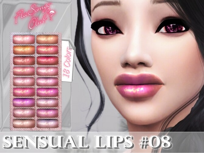 Sensual Lips #08 by FlaSimgo Club at TSR image 4101 670x503 Sims 4 Updates