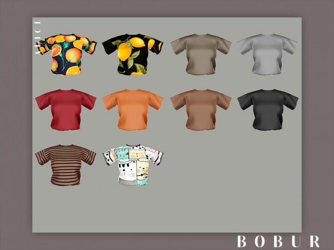 Alice T Shirt by Bobur3 at TSR image 42 670x503 Sims 4 Updates