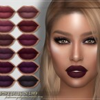 FRS Lipstick N189 by FashionRoyaltySims