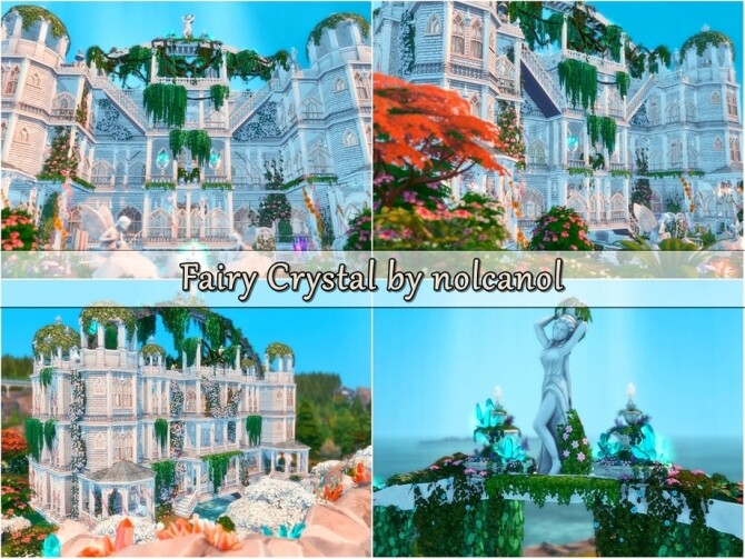 Fairy Crystal Castle by nolcanol at TSR image 427 670x503 Sims 4 Updates