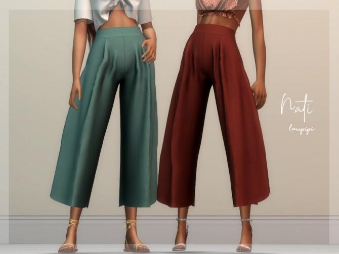 Nati Pants by laupipi at TSR image 428 670x503 Sims 4 Updates