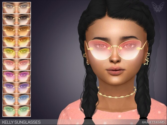 Kelly Sunglasses For Kids by feyona at TSR image 4310 670x503 Sims 4 Updates