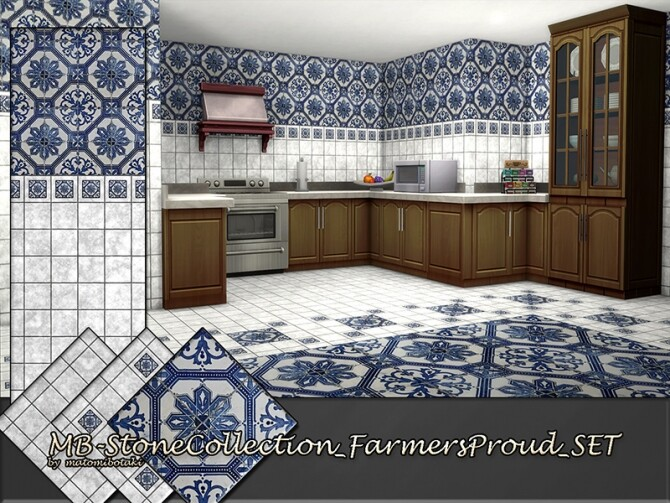 MB Stone Collection Farmers Proud SET by matomibotaki at TSR image 447 670x503 Sims 4 Updates