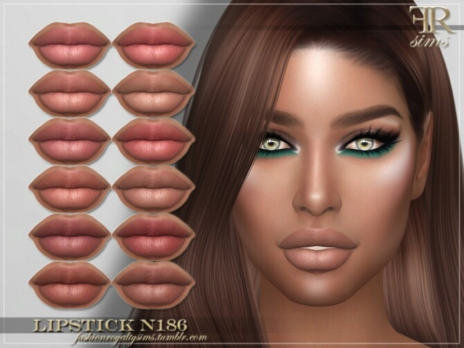 FRS Lipstick N186 by FashionRoyaltySims at TSR image 451 670x503 Sims 4 Updates