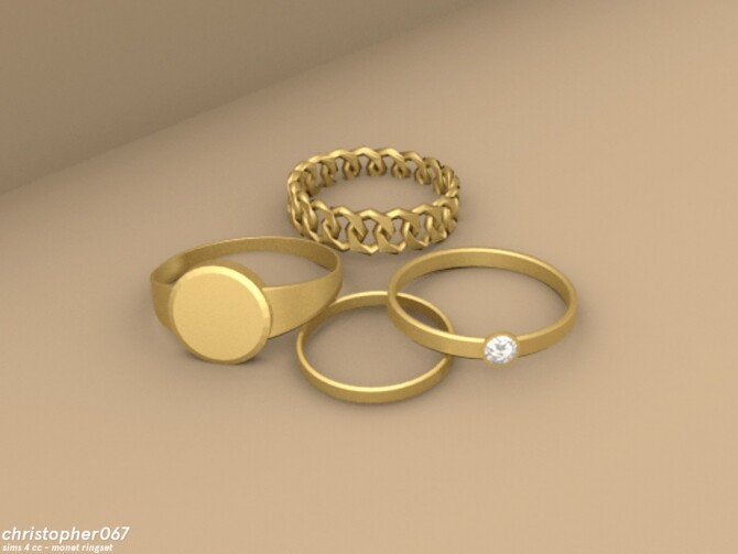 Monet Rings by Christopher067 at TSR image 4512 670x503 Sims 4 Updates