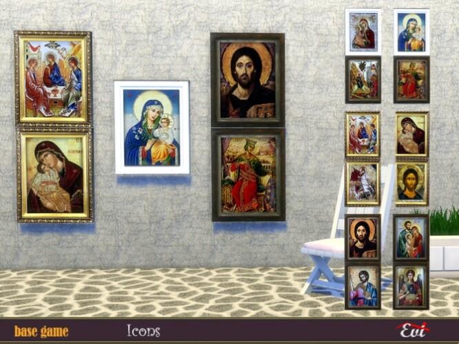 Byzantine Icons by evi