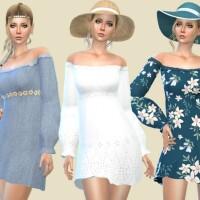 Boho dress with long sleeves by Birba32