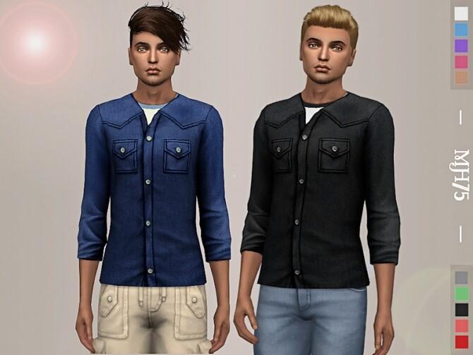 Sims 4 Matt Top by Margeh 75 at TSR