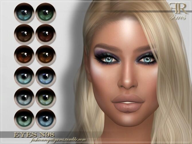 Sims 4 FRS Eyes N98 by FashionRoyaltySims at TSR
