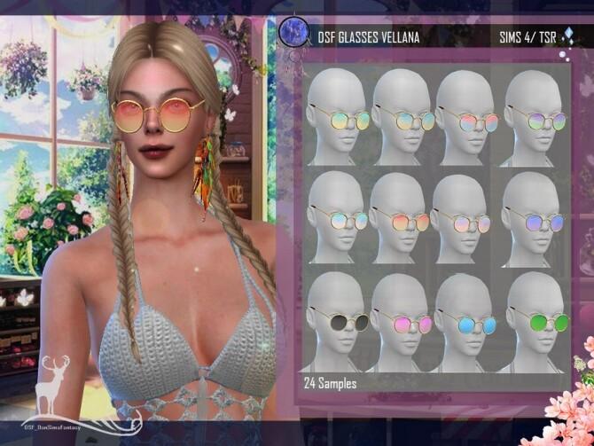 Sims 4 DSF GLASSES VELLANA by DanSimsFantasy at TSR