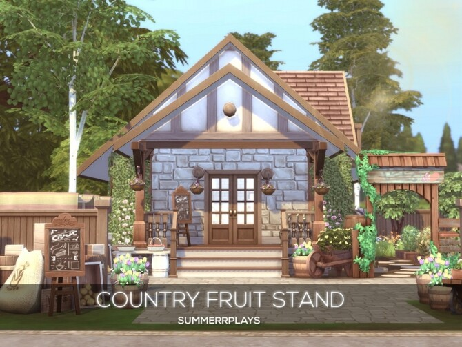 Country Fruit Stand by Summerr Plays at TSR image 464 670x503 Sims 4 Updates