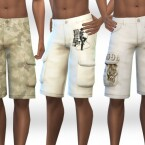 Men CountrySide Cargo Shorts by Saliwa