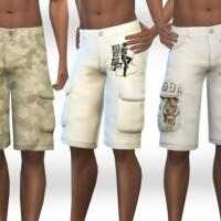 Men CountrySide Cargo Shorts by Saliwa
