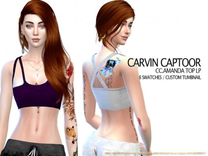 Amanda top LP by carvin captoor