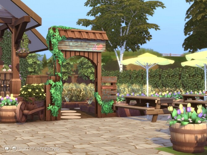 Country Fruit Stand by Summerr Plays at TSR image 474 670x503 Sims 4 Updates