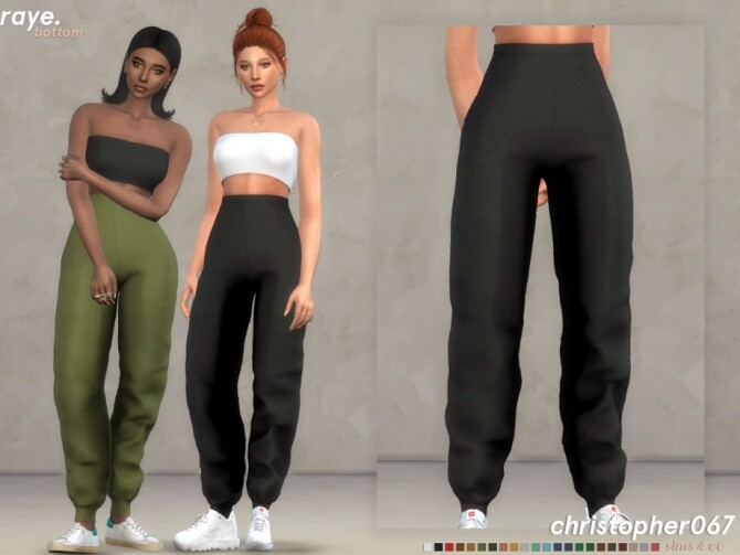Raye Pants by Christopher067 at TSR image 478 670x503 Sims 4 Updates