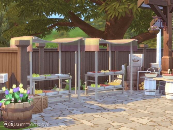 Country Fruit Stand by Summerr Plays at TSR image 484 670x503 Sims 4 Updates