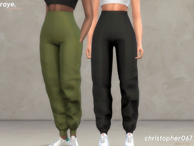 Raye Pants by Christopher067 at TSR image 488 670x503 Sims 4 Updates