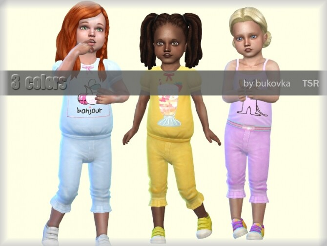 Sims 4 Pants Sweets by bukovka at TSR