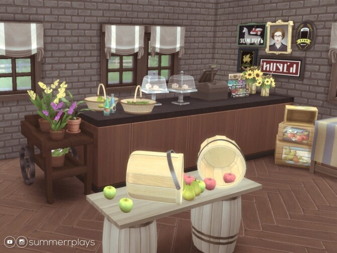 Country Fruit Stand by Summerr Plays at TSR image 494 670x503 Sims 4 Updates