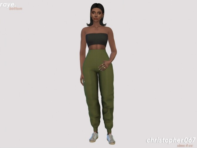 Raye Pants by Christopher067 at TSR image 498 670x503 Sims 4 Updates