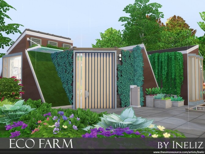 Eco Farm by Ineliz at TSR image 509 670x503 Sims 4 Updates
