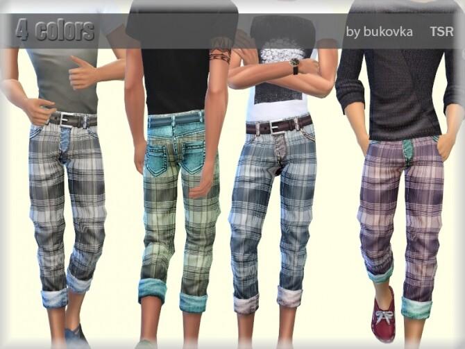 Sims 4 Pants Farm by bukovka at TSR