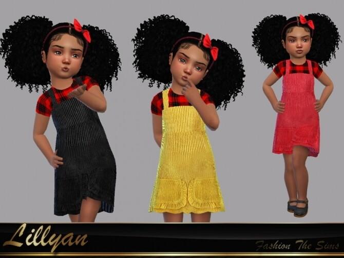 Sara dress farm baby by LYLLYAN at TSR image 5112 670x503 Sims 4 Updates
