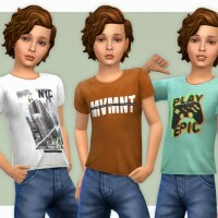 T-Shirt Collection for Boys P19 by lillka