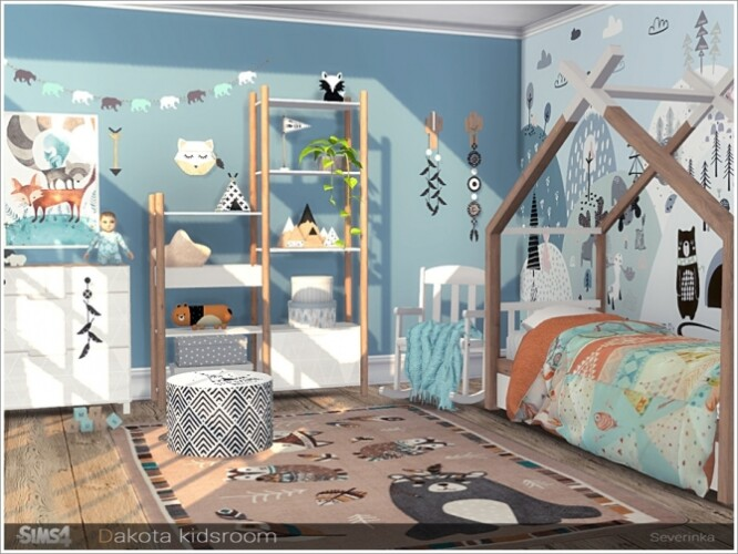Dakota kidsroom by Severinka