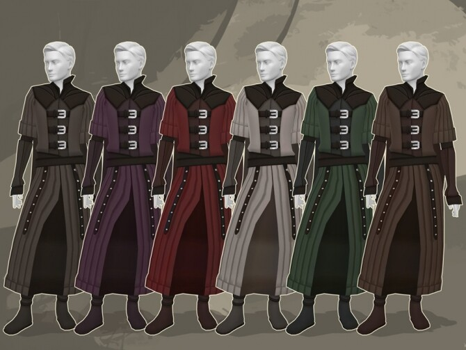 Medieval Vampire Outfit by kennetha v at TSR image 520 670x503 Sims 4 Updates
