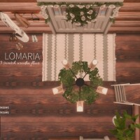 Lomaria Wooden Floor by Networksims