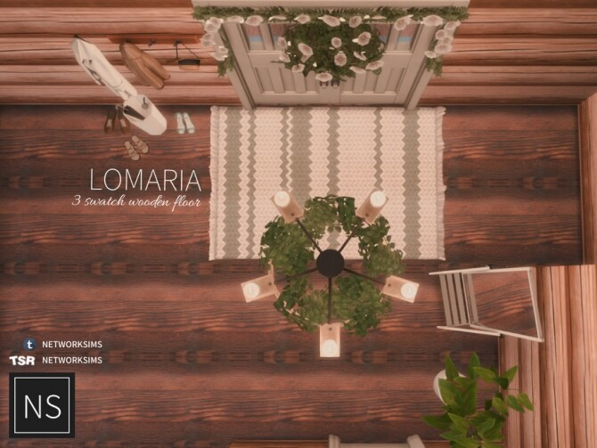 Lomaria Wooden Floor by Networksims at TSR image 5210 670x503 Sims 4 Updates