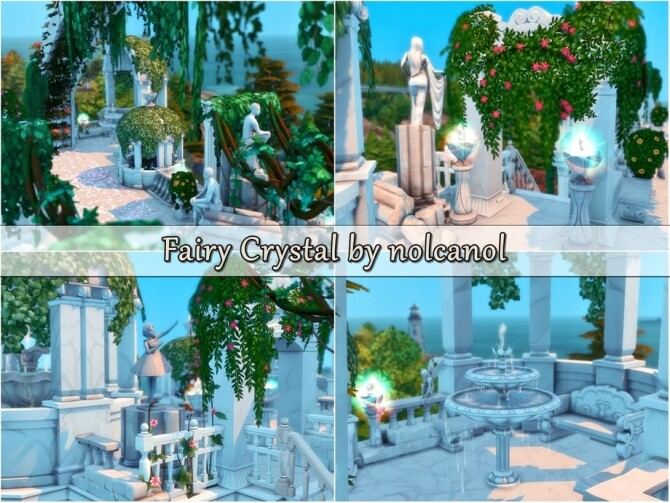 Fairy Crystal Castle by nolcanol at TSR image 527 670x503 Sims 4 Updates