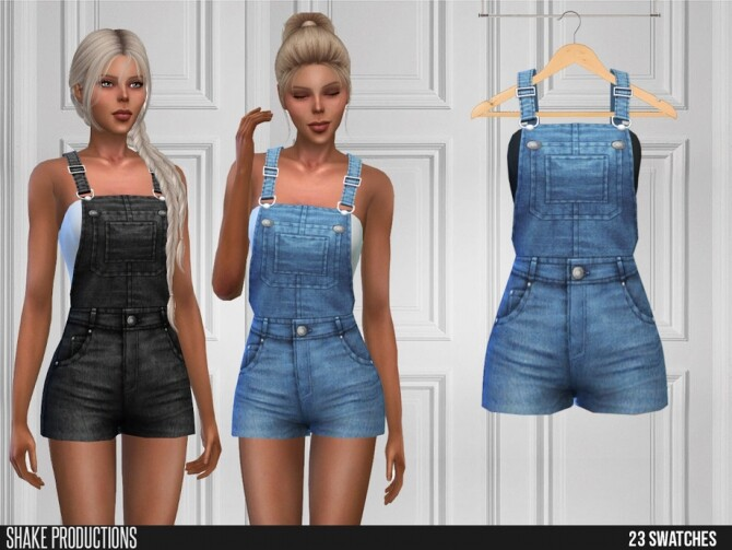 Sims 4 489 Farm Outfit by ShakeProductions at TSR