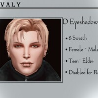 Eyeshadow V11 by Reevaly