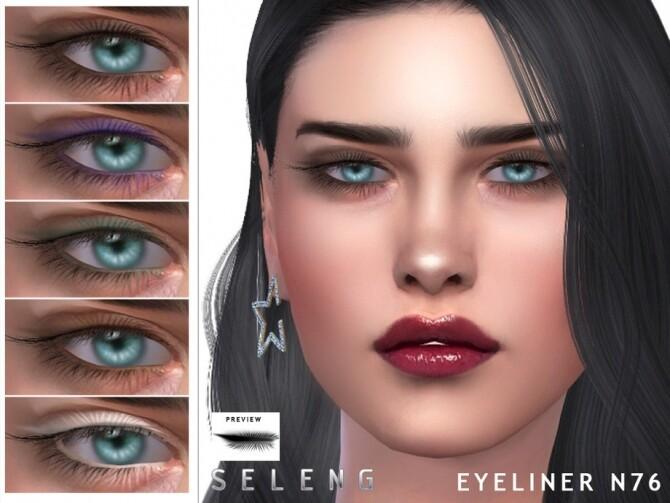 Sims 4 Eyeliner N76 by Seleng at TSR