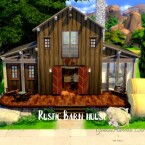 Rustic Barn house by GenkaiHaretsu