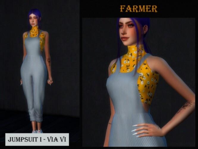 JUMPSUIT I FARMER VI by Viy Sims