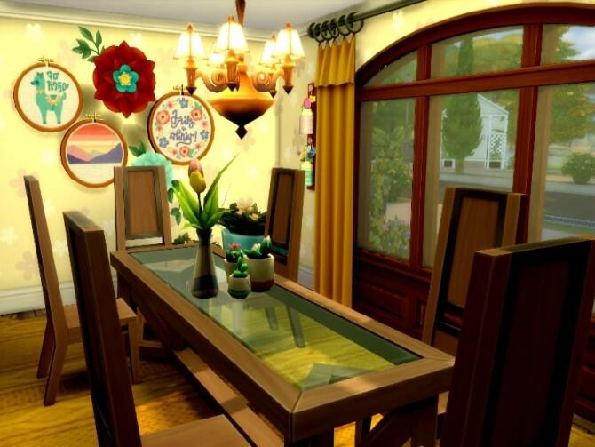 Sims 4 Old farmhouse by GenkaiHaretsu at TSR