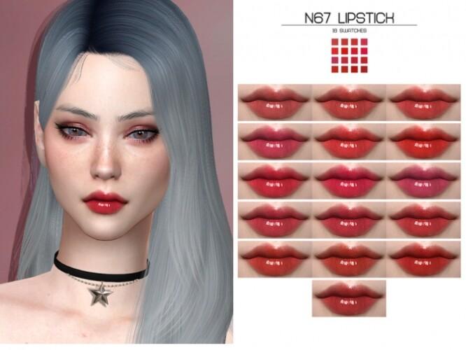 LMCS N67 Lipstick HQ by Lisaminicatsims